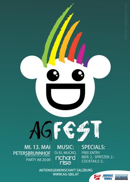 AG FEST Logo Poster