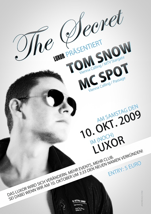 The Secret Flyer Tom Snow Vienna Calling Mc Spot